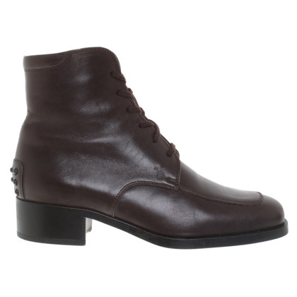 Tod's Boots in dark brown