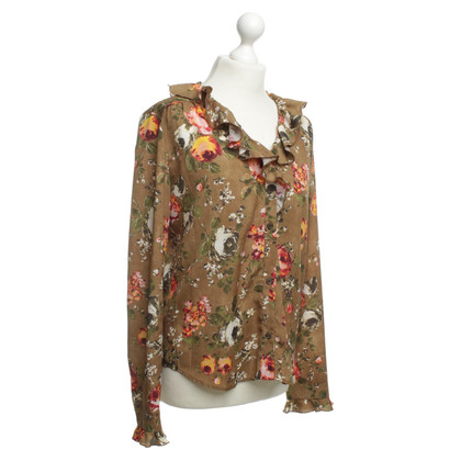 Moschino Love Blouse with colourful patterns