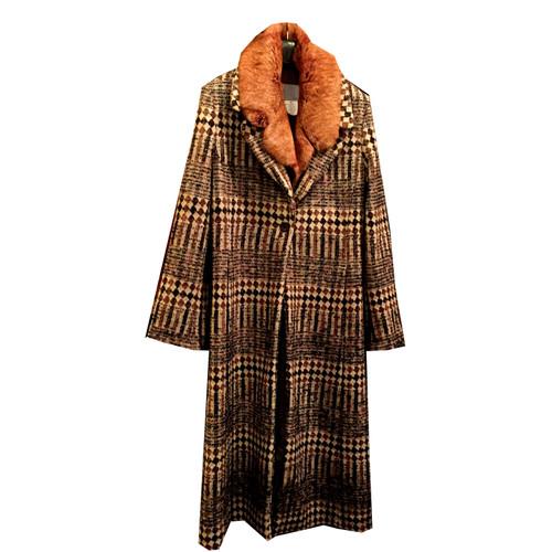 Missoni Manteau avec col en fourrure - Acheter Missoni Manteau avec ... c27469afd23b