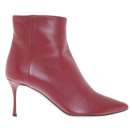 Sergio Rossi Ankle boots in red