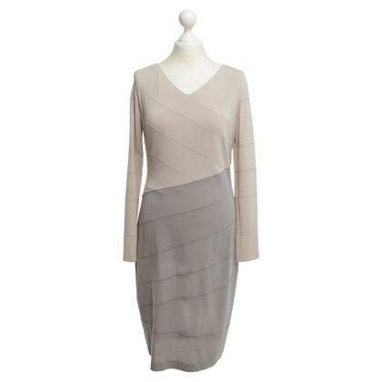 Escada Dress in beige/grey