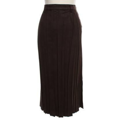Issey Miyake skirt with pleated pleats