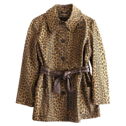 Fendi Leopard jacket