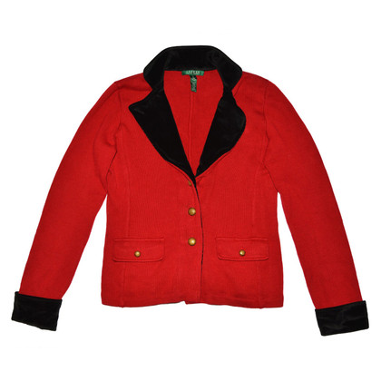 Ralph Lauren Red Cotton Blazer