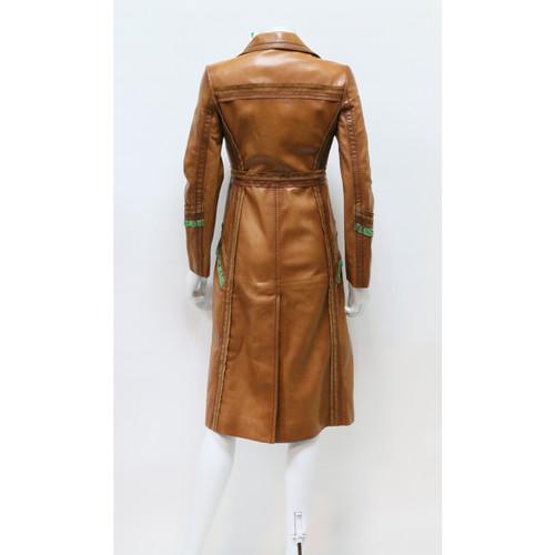 997da1d181 Prada cappotto di pelle - Second hand Prada cappotto di pelle ...