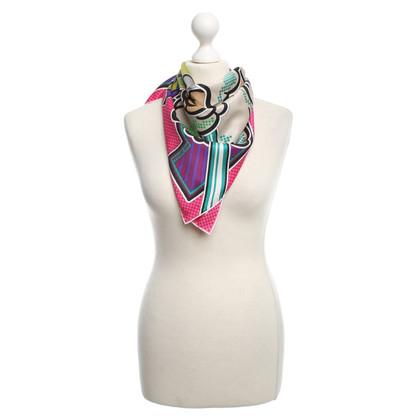 Hermès Sciarpa di seta con stampa