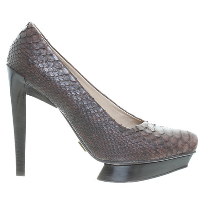 Michael Kors pumps snake leather