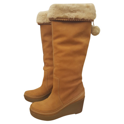 Juicy Couture Lammfell-Stiefel