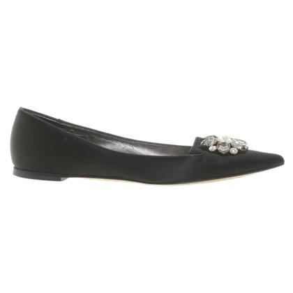Dolce & Gabbana Ballerine con pietre semipreziose