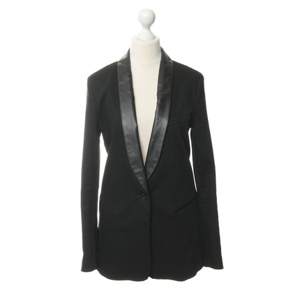 Closed Leer revers Blazer