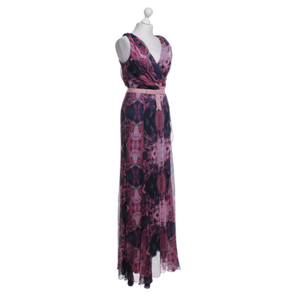 Vera Wang Long dress with floral pattern