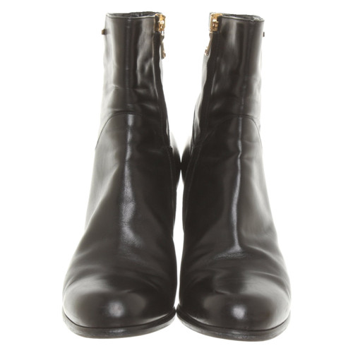 reputable site 1477a 60869 JOOP! Ankle boots Leather in Black - Second Hand JOOP! Ankle ...