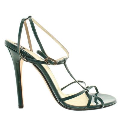 Dolce & Gabbana Sandaletten in Grün