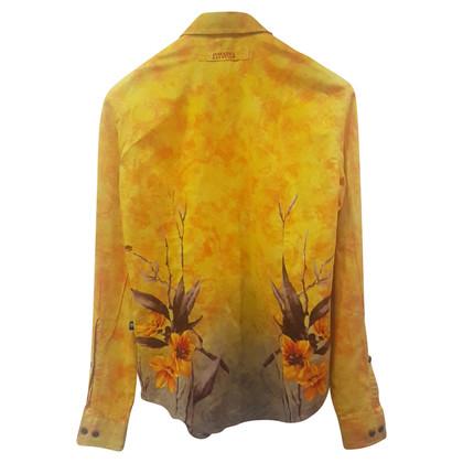Jean Paul Gaultier Blouse avec un motif floral