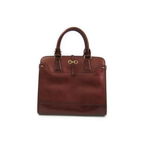 Salvatore Ferragamo Handbag In Brown