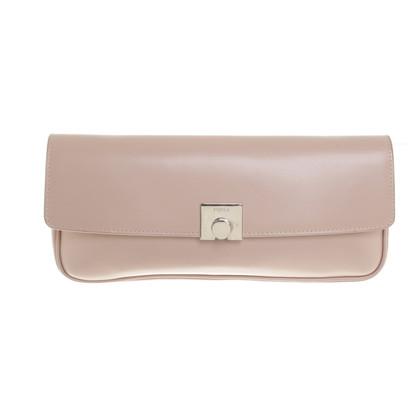 Furla clutch in blush pink