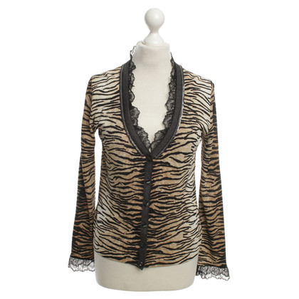 Escada Sweater with animal print