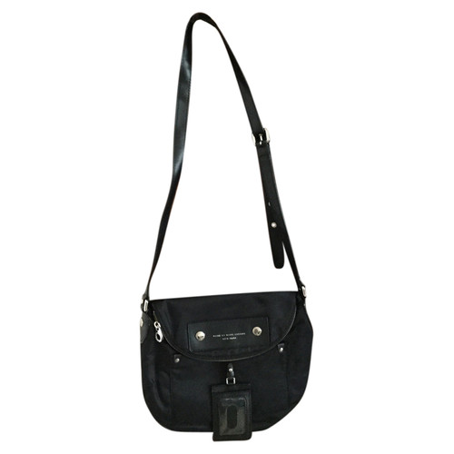 1cac2e2dd5 Marc by Marc Jacobs Borsa a tracolla in Tela in Nero - Second hand ...