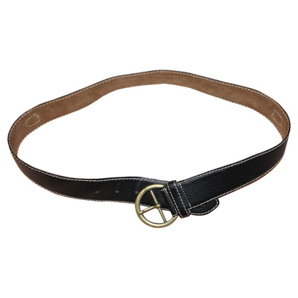 Moschino leather belt