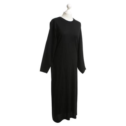 Issey Miyake Black knit dress