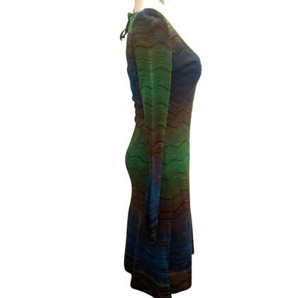 Missoni Dress in blue/green