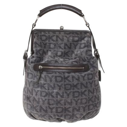 DKNY Schultertasche mit Logo-Muster