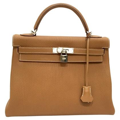 """Hermès """"Kelly Bag 32"""" Togo leder"""