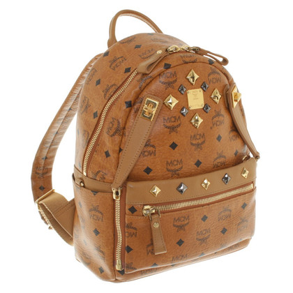 MCM Backpack with logo print
