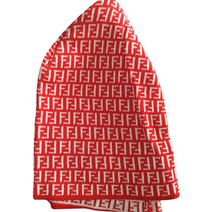 Fendi Mütze mit Zucca-Muster
