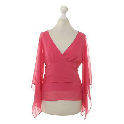 BCBG Max Azria Silk blouse in pink