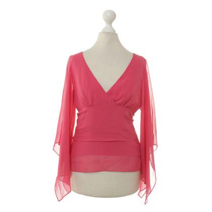 BCBG Max Azria Zijden blouse roze