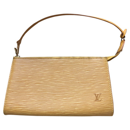 "Louis Vuitton ""Pochette Accessories Epi Leather"""
