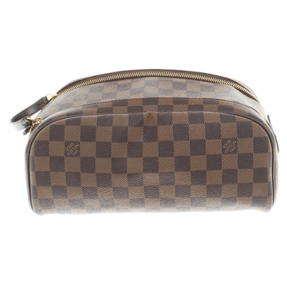 Louis Vuitton Kosmetiktäschchen from Damier Ebene Canvas