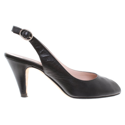Pollini Peep-toes in black
