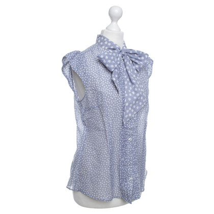 Max Mara Patterned shed blouse