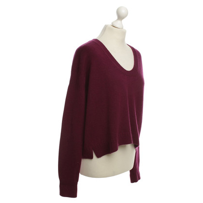 Jil Sander Cashmere sweaters in Bordeaux