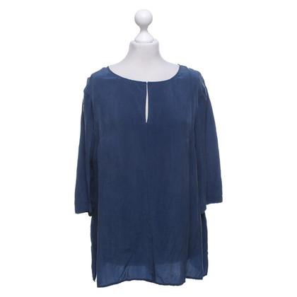 Laurèl Blouse chemise en bleu