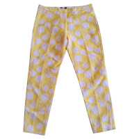 MSGM Pants with rose pattern