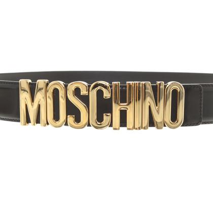 Moschino Gürtel in Schwarz