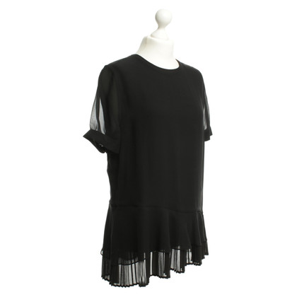 Kaviar Gauche Silk blouse in black