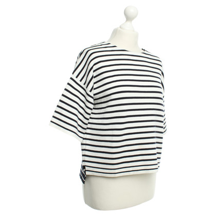 L.K. Bennett top in Blue / White