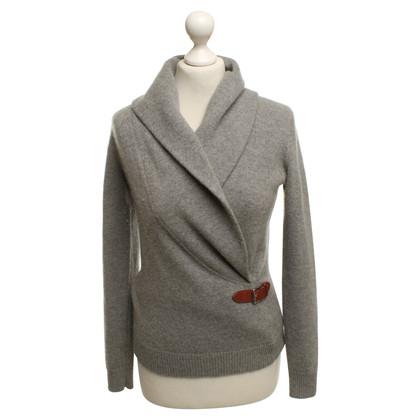 Ralph Lauren Knitted sweater in light gray