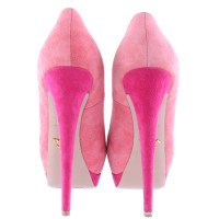 Prada Pink peep-toes