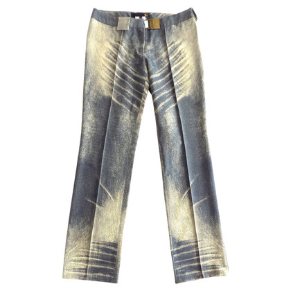 Just Cavalli Pantaloni in lana blu