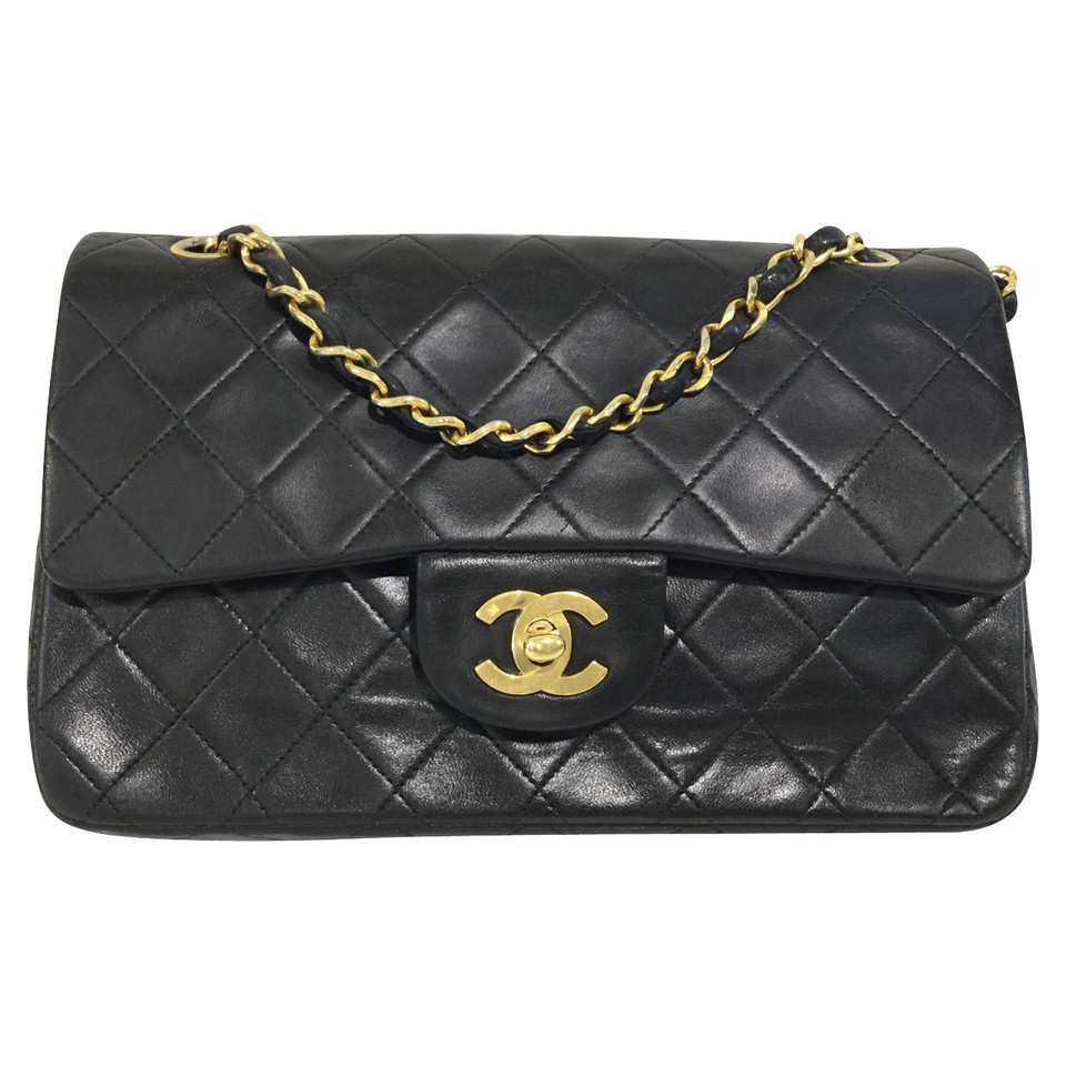 chanel classic flap bag small buy second hand chanel classic flap bag small for 2. Black Bedroom Furniture Sets. Home Design Ideas