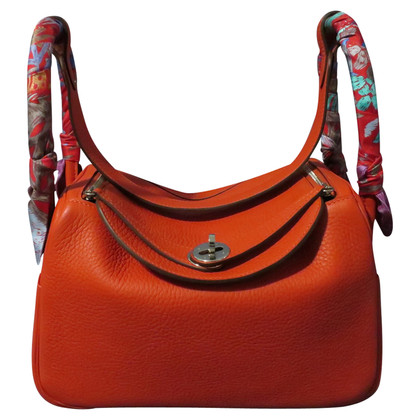 "Hermès ""Lindy 26 Clémence Leather"""