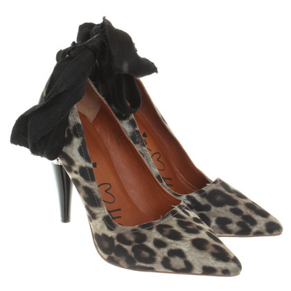 Lanvin for H&M Pumps mit Animalprint