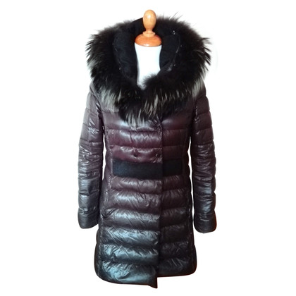 Duvetica Down coat with fur
