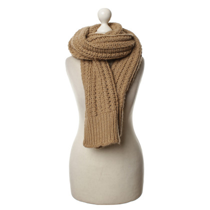 Strenesse Knit scarf in Brown