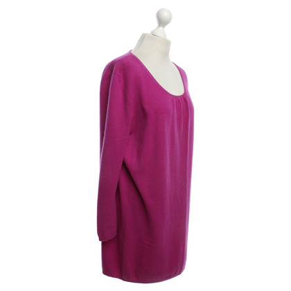 Allude Cashmere jurk in Purple